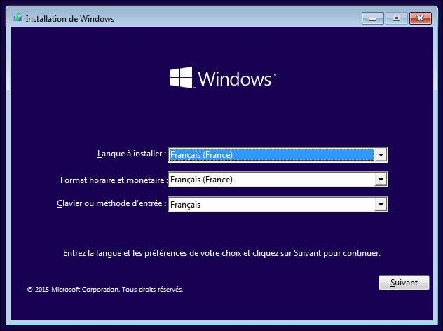 formater windows 7 avec clé usb