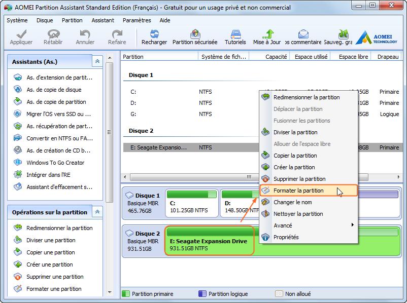 Ajouter un volume à un appareil sans effacer les données existantes